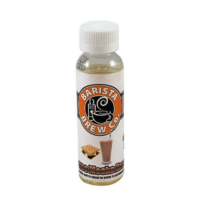 Barista Brew Smores Mocha Breeze tastes like sweet marshmallow with a hint of mocha. This American shortfill e-liquid is signed by the bakery e-liquids experts. It comes in a 60ml bottle filled up to 50ml, giving you room for one nicotine shot.