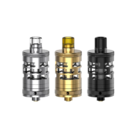 The Nautilus GT Mini clearomizer is the result of a collaboration between Aspire and Taifun. This 22mm tank features adjustable air flow and uses the well-known Nautilus BVC coils.