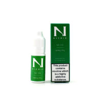 This nicotine booster contains 10ml of flavorless e-liquid with 18mg/ml nicotine strength. The PG/VG ratio is 50% Propylene Glycol and 50% Vegetable Glycerin.This nicotine booster contains 10ml of flavorless e-liquid with 18mg/ml nicotine strength. The PG/VG ratio is 50% Propylene Glycol and 50% Vegetable Glycerin.