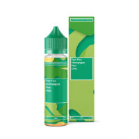 Supergood Pear Fizz is a nicotine free shortfill e-liquid, with a mix of pear, soda and champagne flavor. This flavor is produced in the UK with a 30%PG/70%VG ratio. It is available in 60ml bottles filled up to 50ml, which means you have room for one nicotine booster.