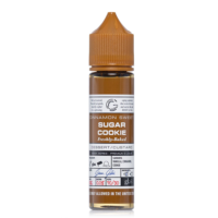 Sugar Cookie is an e-liquid by Glas Basix with vanilla and cinnamon cookie flavor. This nicotine free shortfill has a PG/VG ratio of 30%PG/70%VG. It is available in 60ml bottles filled with 50ml (also known as short fill). You can add one nicotine shot without losing any flavour.