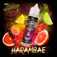 Twelve Monkeys Harambae is an e-liquid that combines oranges and lime. This Canadian Shake and Vape has a PG/VG ratio of 30%PG/70%VG. It is available in 50ml bottles.