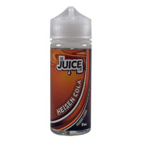 This Heisen Cola e-liquid by The Juice Lab is a mix of Cola and Heisenberry. Produced in the UK, it features 70%VG. It is available as a 100ml nicotine free short fill in a 120ml bottle. You can add two nicotine boosters if you wish.