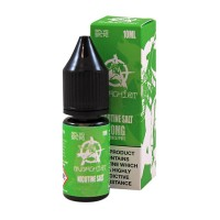 Anarchist Salt Green is an apple butter cookie flavour with Nicotine Salts. This 50%PG/50%VG e-liquid is produced in the US and comes in 10ml bottles. You can choose between 10mg/ml and 20mg/ml Nic-Salts.