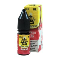 Anarchist Salt Pink Lemonade is a grapefruit lemonade flavour with Nicotine Salts. This 50%PG/50%VG e-liquid is produced in the US and comes in 10ml bottles. You can choose between 10mg/ml and 20mg/ml Nic-Salts.