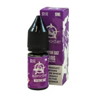 Anarchist Salt Purple tastes is a grape gum flavour with Nicotine Salts. This 50%PG/50%VG e-liquid is produced in the US and comes in 10ml bottles. You can choose between 10mg/ml and 20mg/ml Nic-Salts.
