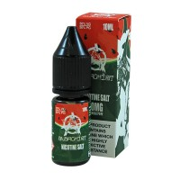 Anarchist Salt Watermelon is a juicy watermelon flavour with Nicotine Salts. This 50%PG/50%VG e-liquid is produced in the US and comes in 10ml bottles. You can choose between 10mg/ml and 20mg/ml Nic-Salts.