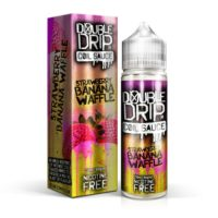 Strawberry Banana Waffle is an e-liquid by Double Drip. This UK shortfill e-liquid features a 80%VG and is ideal for dripping and sub-oh vaping. It comes in 60ml bottles filled with 50ml flavour.